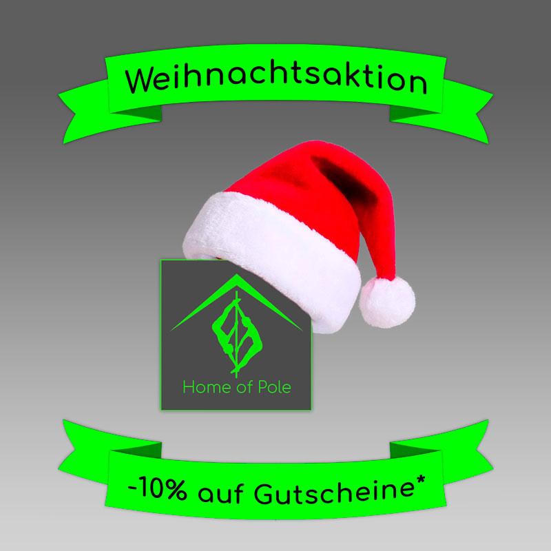 Weihnachtsaktion 2018 | -10% Rabatt | Home of Pole Ingolstadt