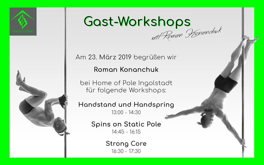 Gast-Workshops mit Roman Konanchuk